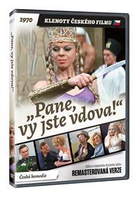 Pane, vy jste vdova! (remasterovaná verze) DVD