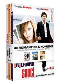 Romantické komedie kolekce 3DVD (Klamač srdcí, Promiň, jsi ženatý, Záměna)
