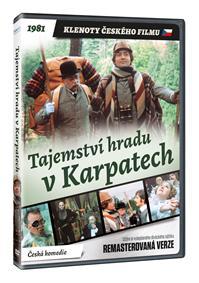 Tajemství hradu v Karpatech (remasterovaná verze) DVD