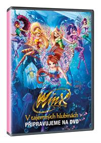 Winx Club: V tajemných hlubinách DVD