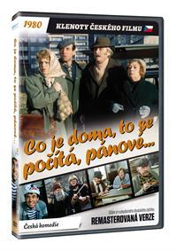 Co je doma, to se počítá, pánové... (remasterovaná verze) DVD