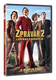 Zprávař 2- Legenda pokračuje DVD