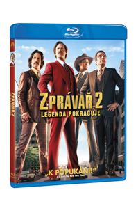 Zprávař 2. - Legenda pokračuje Blu-ray