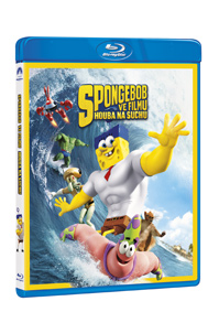 SpongeBob ve filmu: Houba na suchu Blu-ray