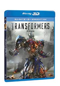 Transformers: Zánik 3Blu-ray (3D+2D+bonus Blu-ray)