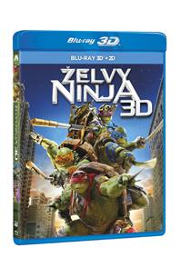 Želvy Ninja 2Blu-ray (3D+2D)