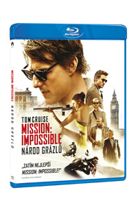 Mission: Impossible - Národ grázlů Blu-ray