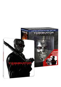 Terminator Genisys - sběratelské balení s lebkou 3Blu-ray (3D+2D+Bonus Blu-ray) - steelbook