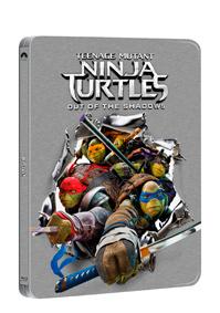Želvy Ninja 2. 2Blu-ray (3D+2D) - steelbook