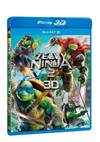 Želvy Ninja 2. Blu-ray (3D)