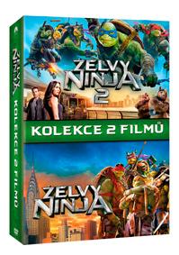Želvy Ninja kolekce 1-2 2DVD