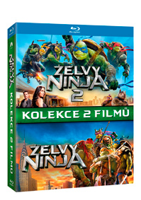 Želvy Ninja kolekce 1.-2. 2Blu-ray