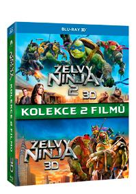 Želvy Ninja kolekce 1.-2. 3Blu-ray