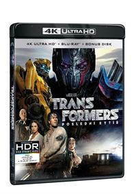 Transformers: Poslední rytíř 3Blu-ray (UHD+Blu-ray+bonus disk)