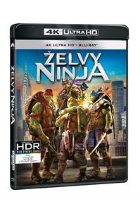 Želvy Ninja 2Blu-ray (UHD+Blu-ray)