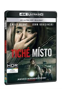 Tiché místo 2Blu-ray (UHD+Blu-ray)