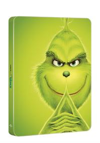 Grinch Blu-ray - steelbook