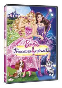 Barbie - Princezna a zpěvačka DVD