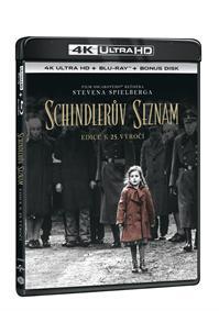 Schindlerův seznam výroční edice 25 let 3Blu-ray (UHD+Blu-ray+Blu-ray bonus)