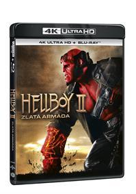 Hellboy 2: Zlatá armáda 2Blu-ray (UHD+Blu-ray)
