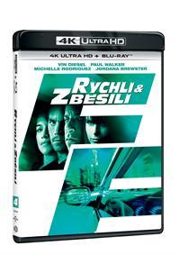 Rychlí a zběsilí 2Blu-ray (UHD+Blu-ray)