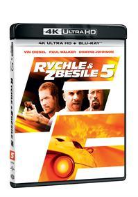 Rychle a zběsile 5 2Blu-ray (UHD+Blu-ray)