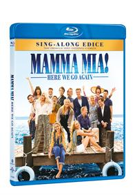 Mamma Mia! Here We Go Again Blu-ray