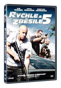 Rychle a zběsile 5 DVD