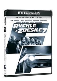 Rychle a zběsile 7 2Blu-ray (UHD+Blu-ray)