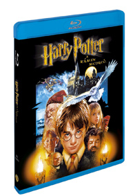 Harry Potter a kámen mudrců Blu-ray