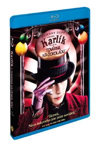 Karlík a továrna na čokoládu Blu-ray