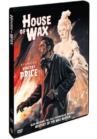 Dům voskových figurín 1953 DVD
