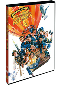 Policejní akademie 4: Občanská patrola DVD