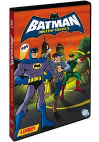 Batman: Odvážný hrdina 5. DVD
