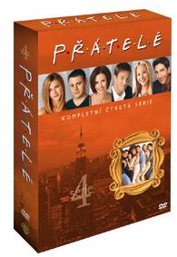 Přátelé 4. série DVD
