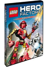 Lego Hero Factory: Nový tým DVD