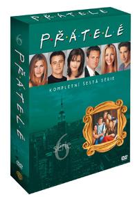Přátelé 6. série DVD