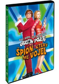 Austin Powers: Špión, který mě vojel DVD