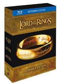 Pán prstenů filmová trilogie: Rozšířená edice (6Blu-ray+9DVD bonus)