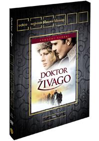 Doktor Živago limitovaná sběratelská edice 2DVD - Edice Filmové klenoty