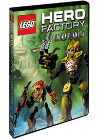 Lego Hero Factory: Divoká planeta DVD