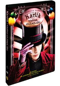 Karlík a továrna na čokoládu DVD