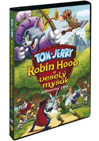 Tom a Jerry: Robin Hood a veselý myšák DVD