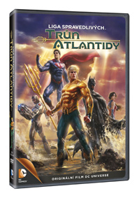 DCU: Liga spravedlivých: Trůn Atlantidy DVD