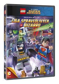 Lego: DC - Liga spravedlivých vs Bizarro DVD