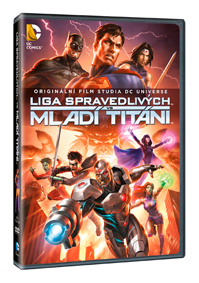 Liga spravedlivých vs Mladí Titáni DVD