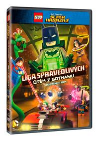 Lego DC Super hrdinové: Útěk z Gothamu DVD