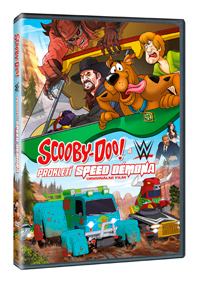 Scooby-Doo & WWE:Prokletí Speed Démona DVD