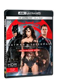 Batman vs. Superman: Úsvit spravedlnosti - prodloužená verze 2Blu-ray (UHD+Blu-ray)