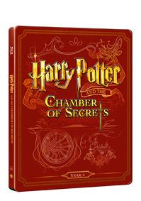 Harry Potter a tajemná komnata (Blu-ray+DVD bonus) - steelbook